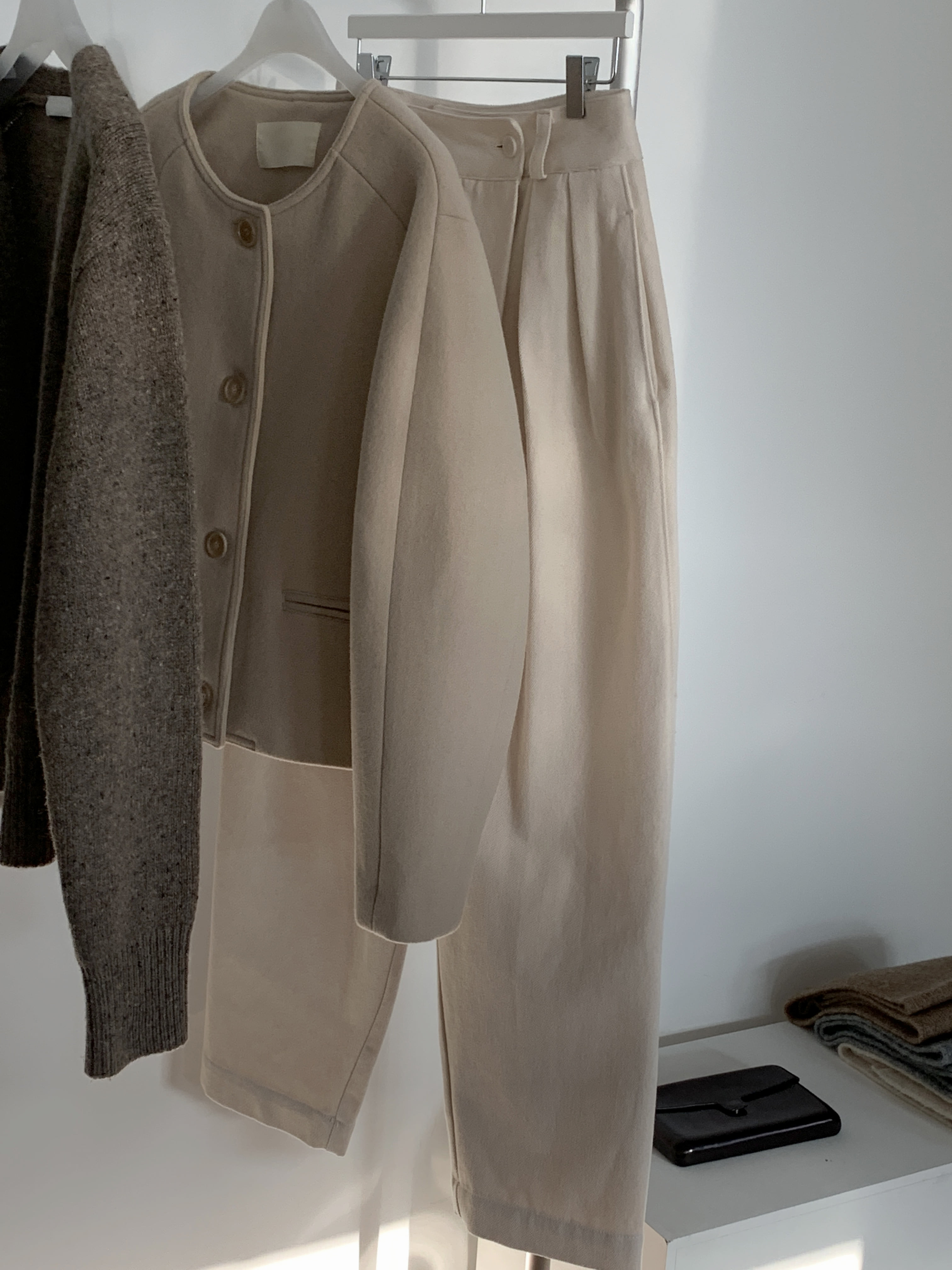 Volume Short Jacket